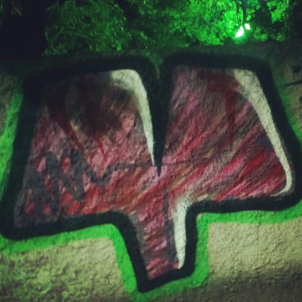 Pintura rápida ontem na esdi, obrigado pelo convite mr fiuz! #amorifiquese #esdi #tempobom #streetartrio #instagrafite #streetart #urbanart #arteurbana #doiderozi