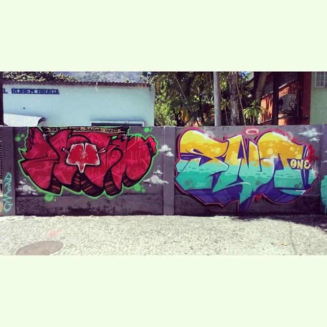 Produção completa com o amigo @amorifiquese. #streetartrio