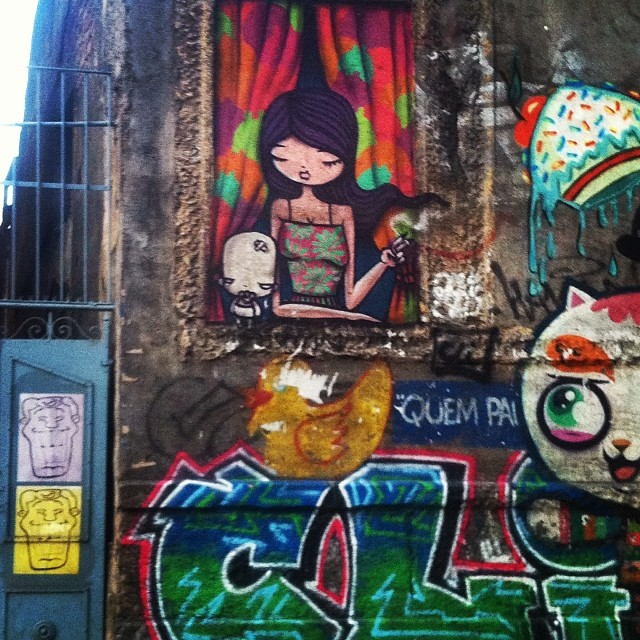 Quem paga o pato? #lapa #streetart #graffiti #streetartrio #rio #riodejaneiro #rioetc #tonoadorofarm #wollnergram #comosercarioca #helldejaneiro #cor