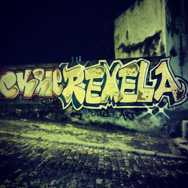 Sprayzada dessa madruga foi show. #streetartrio #bombit Tavares Bastos #ttk