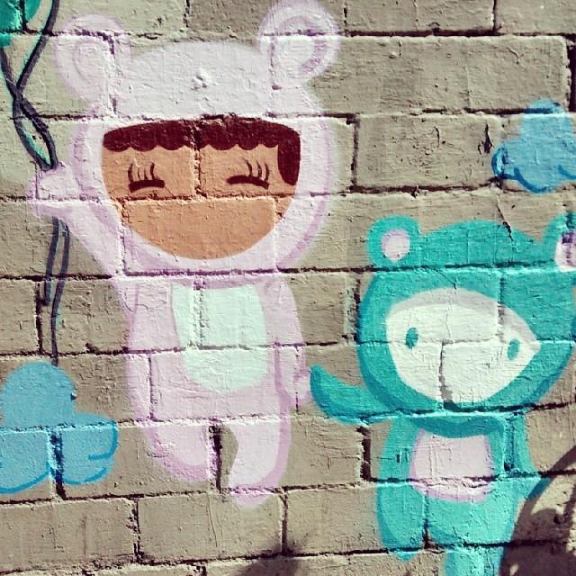 #StreetArtRio #instagrafite #instarte #instagood #instahappy #ursinhos #fofos #montana #94mtn #colorgin #arteurbana #arteruario #arturban #urbanarts #grafittisensation #grafgirl #nice #sukitinha