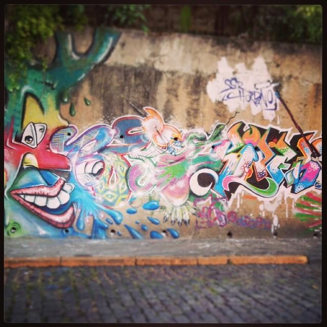 Surpresa ao subir a monte alegre #StreetArtRio