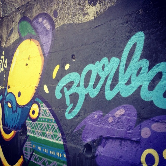 #barba #graffiti #streetartrio #rua