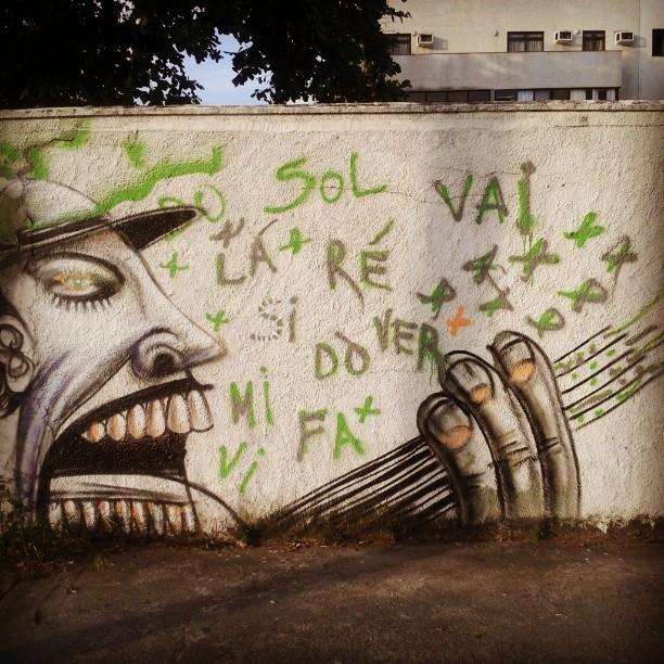 canrarolando #StreetArtRio #barra #praia #orla #asruasfalam #muro