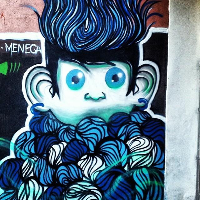 #meneca #grafite #graffrio #murosdorio #artelivre #streetartrio