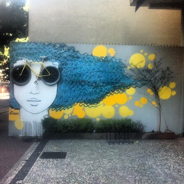 #streetart #art #streetartrio #ipanema #riodejaneiro #rj #bike #pels