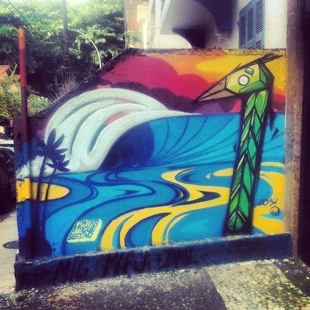 #streetart #streetartRio #art #ipanema #rj #riodejaneiro #pels