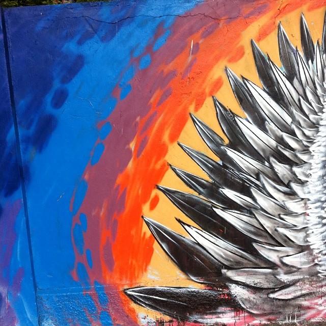 #streetart #streetartrio #wings #asas