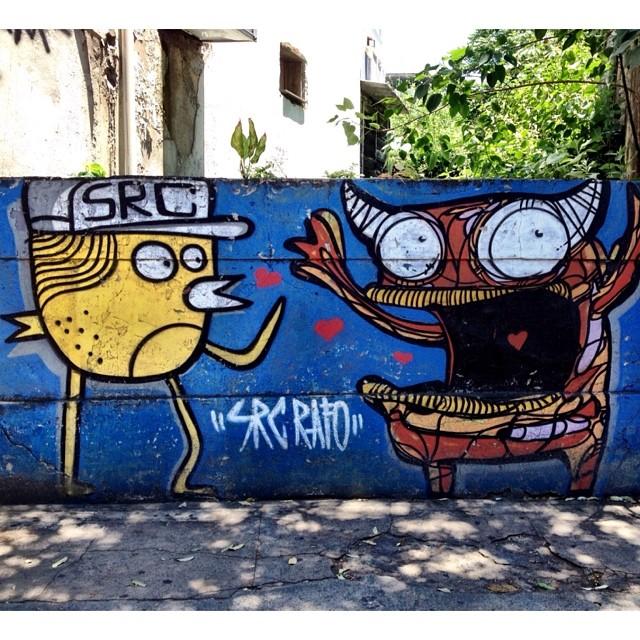 um belo encontro. #streetartrio