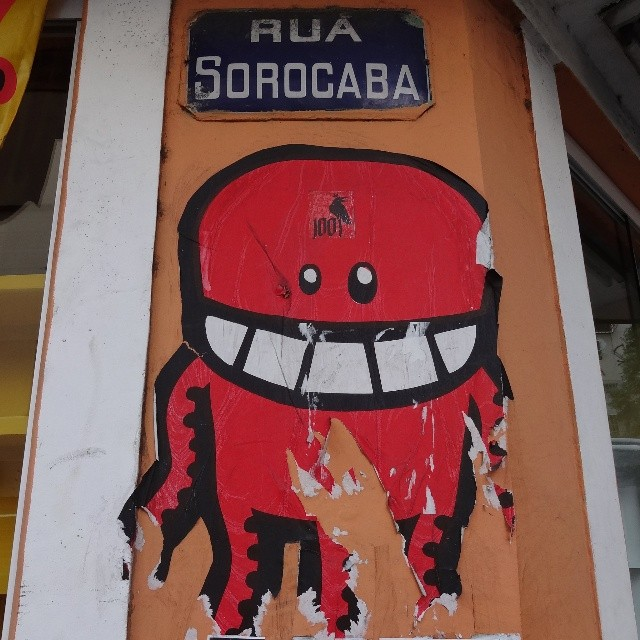@rafocastro at Sorocaba Street. ♡ #rafocastro #rafo #lambe #lambelambe #coladefarinha #wheatpaste #pasteup #urbanart #streetart #artederua #arteurbana #streetartrio #riostreetart #riodejaneiro