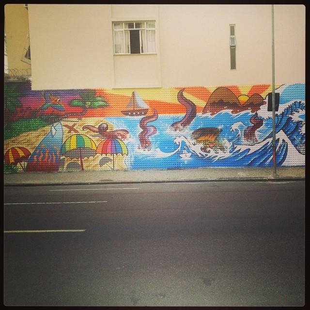 Arte em Ipanema #streetartrio #instart #errejota #rj