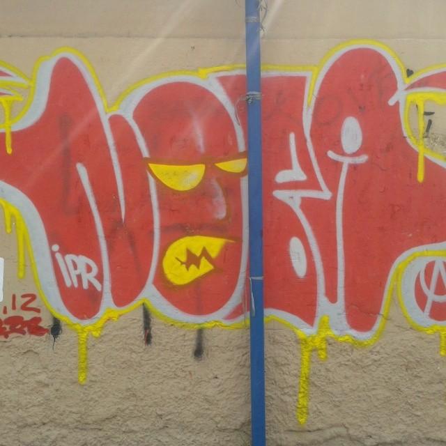 Disso que tô falando #ilovebombing #artistasurbanoscrew #streetartrio #urbanart #instagraffiti #instabomb #graffitirj #tagsandthrows #throwup #rjgraffiti #znrj #zonanorte #suburbiocarioca #nobã630