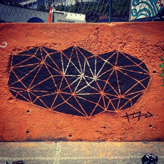 Dor&Vitória - Borel #graffiti #art #arte #streetartrio