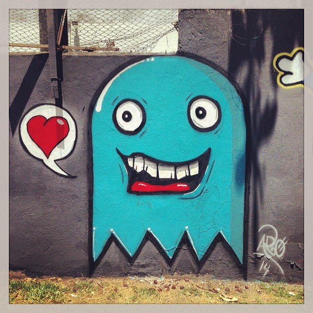 Eitcha! #streetartrio #trapacrew
