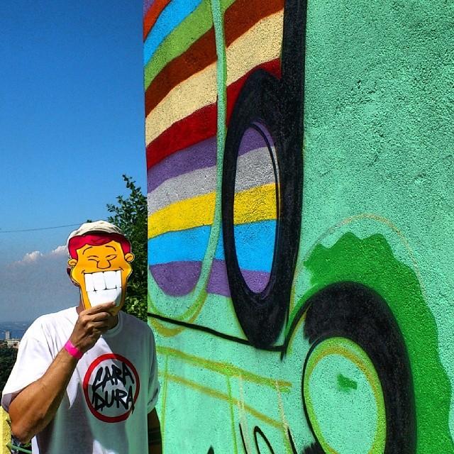 Madrugadão fazendo a sua parte para o Caminho do Graffiti no Morro dos Prazeres! Abç... Irmão @mga021 :D #caminhodograffiti #MorrodosPrazeres #morrodosprazeres #santateresa #mga021 #streetview #streetdesign #streetartrio #rjstreetart #riostreetart #rsa_graffiti #rsa_streetart #colors #ilovegraffiti #grafittilovers #igersrio #helldejaneiro #errejota #entreamigosbrasil #designer #details #bluesky