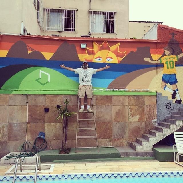 Maraca Hostel com os amigos @felipetamanini @angelomartins