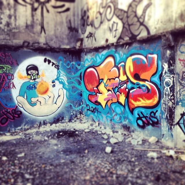 Nakele.Pike #Ottis #OttisGrafiteRJ #streetart #streetartrio #art #grafite