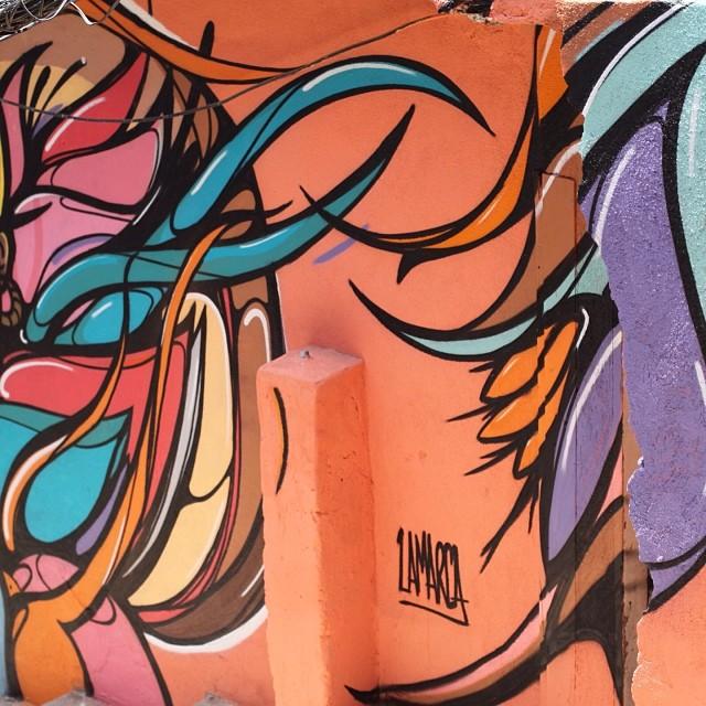 PLT!  #caminhodograffiti #morrodosprazeres #marcelolamarca #streetartrio