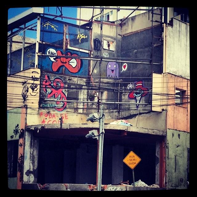 Prédio abandonado no méier #streetartrio