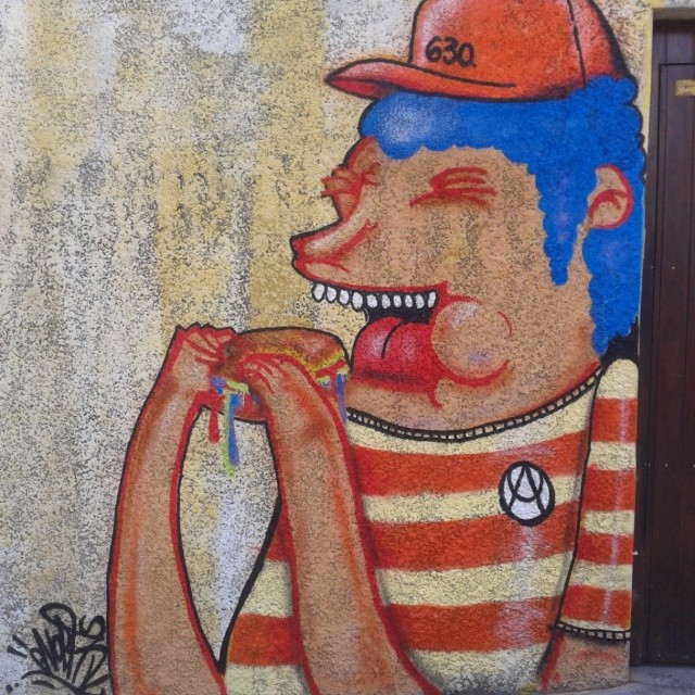Sr. Podrão #artistasurbanoscrew #streetartrio #nobã630 #instagraffiti #graffitirj
