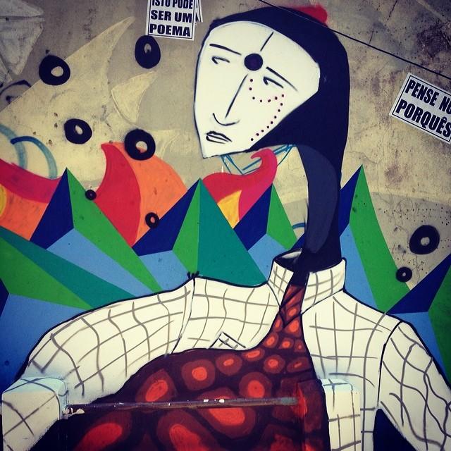 #StreetArtRio artista: lobo