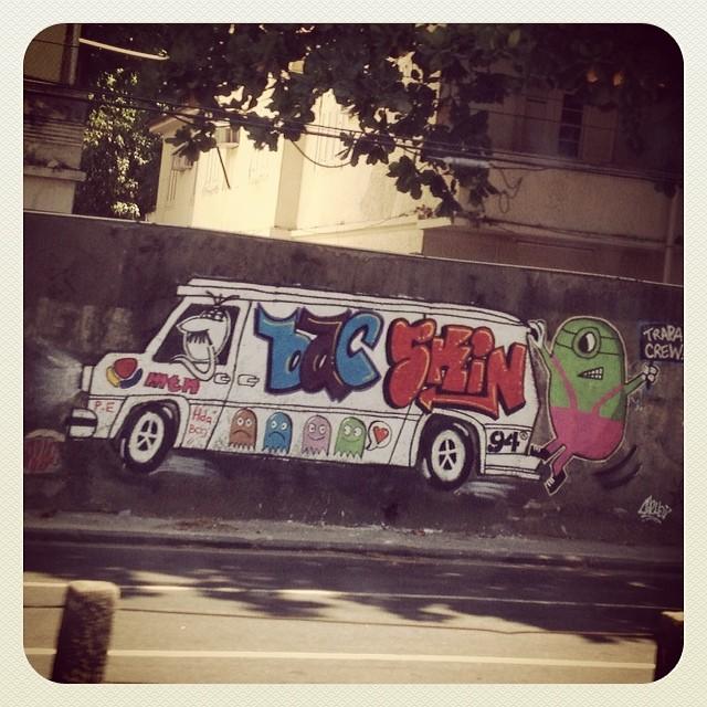Super fofo! Fantasminhas & Minion.  #trapacrew #grafite #grafitti #draw #artederua #streetartrio #rio