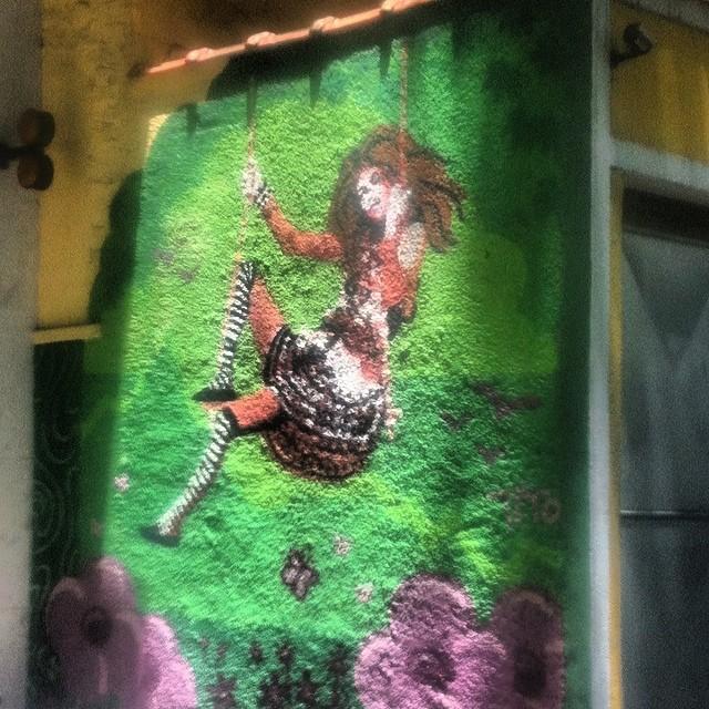 Swing #graffitti #streetart #streetartrio #art #street #realcoolrio #pels