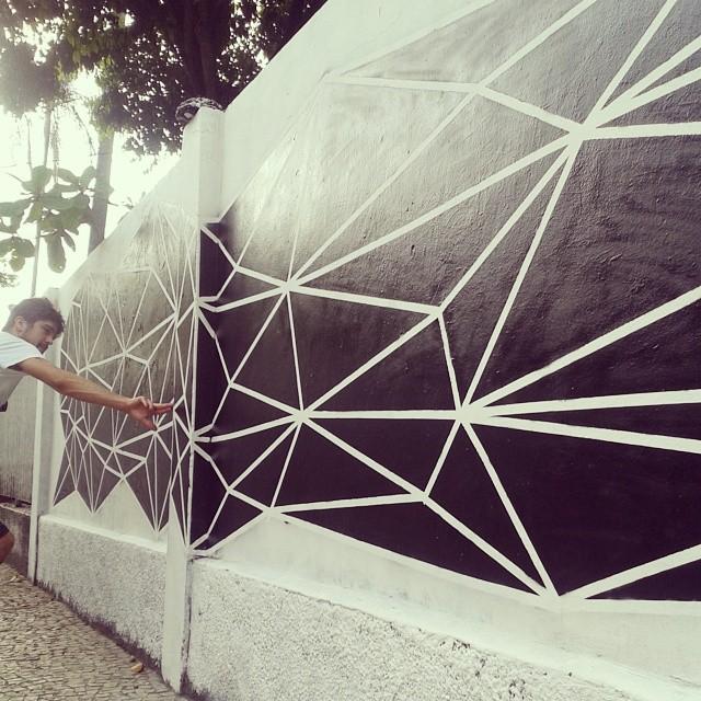 Toque. #streetartrio #graffiti #art