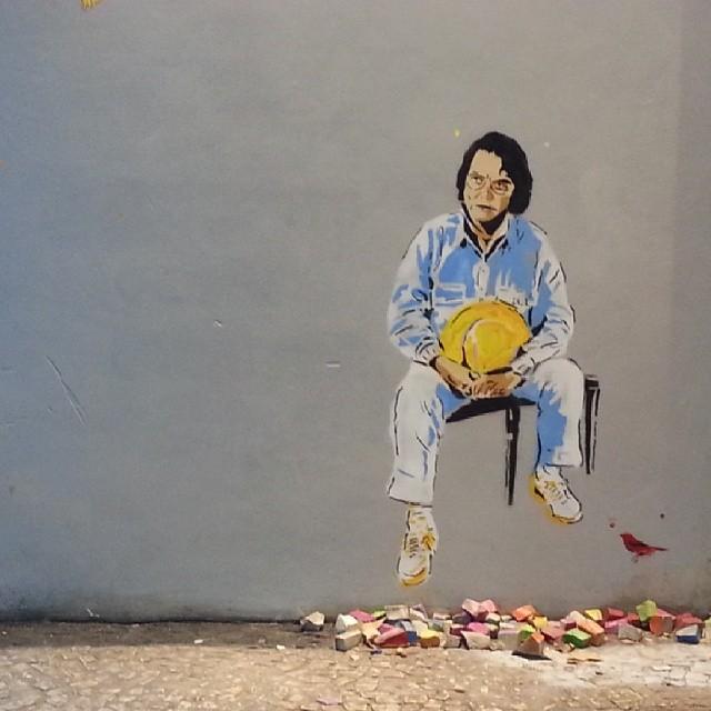 #artenomuro #arturbain #art #murosdorio #streetartbrasil #streetartrio #streetartist #streetarteverywhere #Tomjobim #andreabrandani #ruasdorio #rioeuteamo #riopostcard