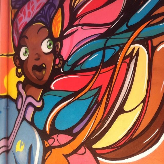 #caminhodograffiti #plantiocrew #morrodosprazeres #streetartrio