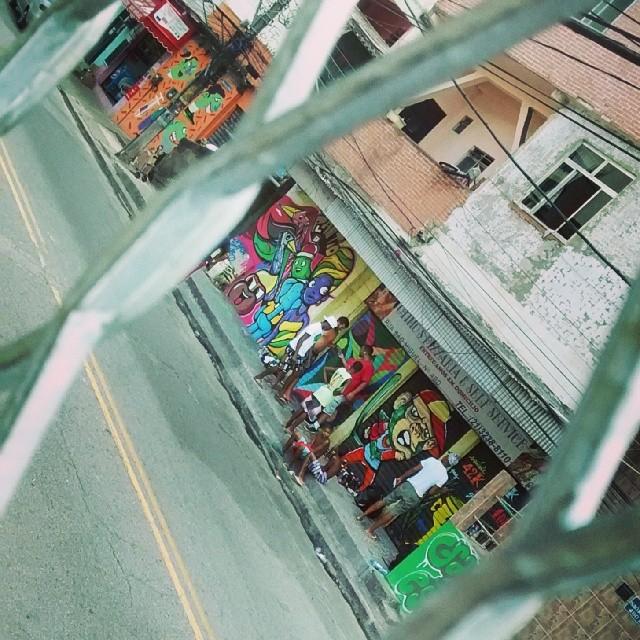 #grafiteseuesporte #streetartrio #spray #aerosolart #boreldebraçosabertos #riodejaneiro #graffiti #graffitirio #arteurbana #arte #rua