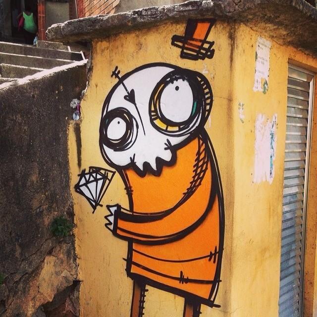 #streetartrio com @rafocastro