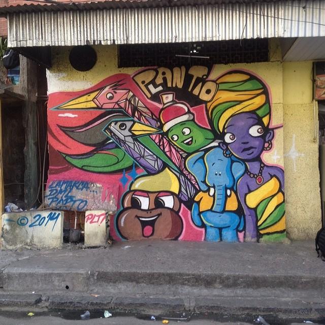 #streetartrio #plantiocrew #borel