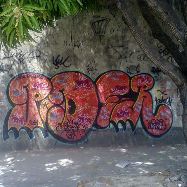 @poderafro carimbando o Penhão #Streetartrio