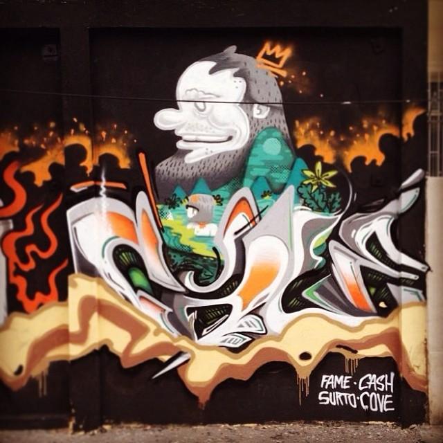 Cash e Cove! #aeg #nrvo #streetartrio #tijuca #carvas