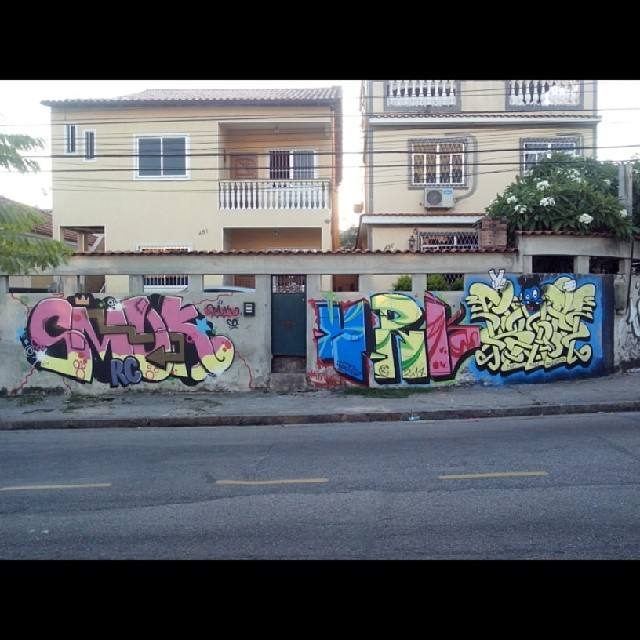 Smuk * Harynk * Ram - Bento Ribeiro - RJ #StreetArtRio
