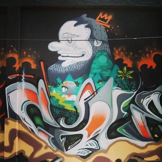 #StreetArtRio Boa, @betofame!