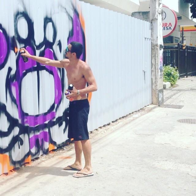 #carnaval #djonereal @marygirlstyle #graffiti #streetart #streetartrj #streetartrio
