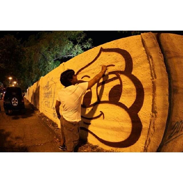 #streetartrio #graffiti #graffitirio #graff #aerosolart #arteurbanarj #art #arte #urbanart #spraypaint #streetrj #streetartandgraffiti #instagrafite #arteruanstarefa_artederua #arterua #rua #riodejaneiro #caradesorvete #plt #instacolors #DmL #streetart #spray #brasil #picoftheday #graffitiart #arteurbana #rio #2014