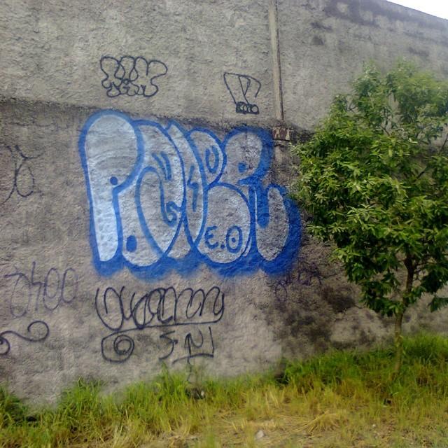 Azul da cor do mar ... #instalike #graffitirj #graffitart #graffitiporn #graffitlife #graffit #graffitlove #graffitrun #graffitiporn #ruasdazn #riostreetstyle #StreetArtRio #errejota