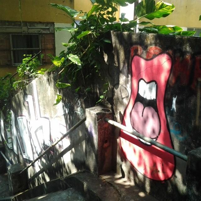 Bom diaaaaah! #StreetArtRio #santateresa