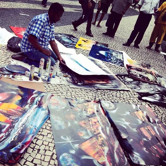 E o prefeito quer proibir artist de rua... #rio #rj #riodejaneiro #streetart #streetarteverywhere #urban #urbanart #arte #artederua #streetartphotography #centrorj #centrodorio #streetartrio