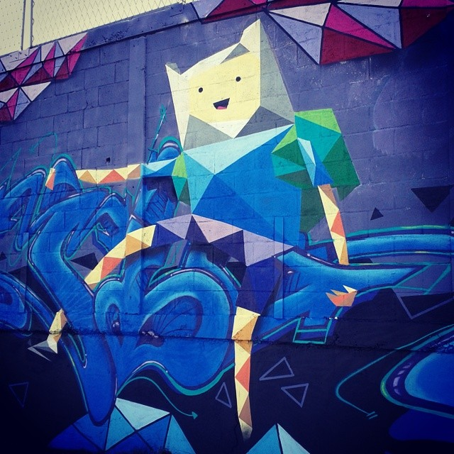 Enfinn persona e letra pronta. #finn #adventuretime #horadeaventura #finnthehuman #grafitti #graffitiart #galerio #eixorio #streetartrio #instagraffiti