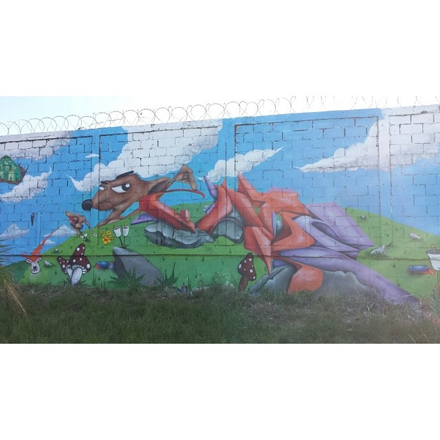Finalizado. #gloye #graffitirio #streetartrio #galerio #estaçaocoelhoneto