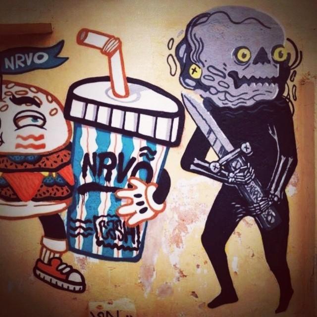 MACAL! #nrvo #streetartrio #inocente #meubebe #madrededios #cidadedesespero