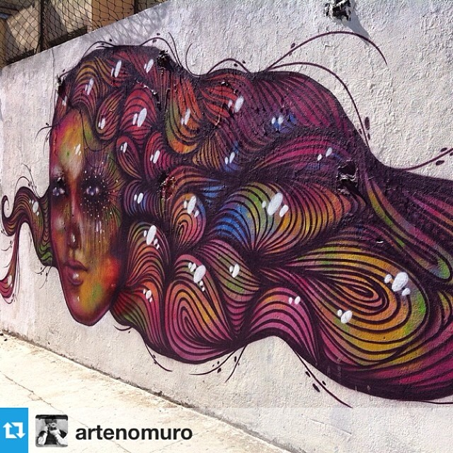 #Repost from @artenomuro with @repostapp --- #streetartrio
