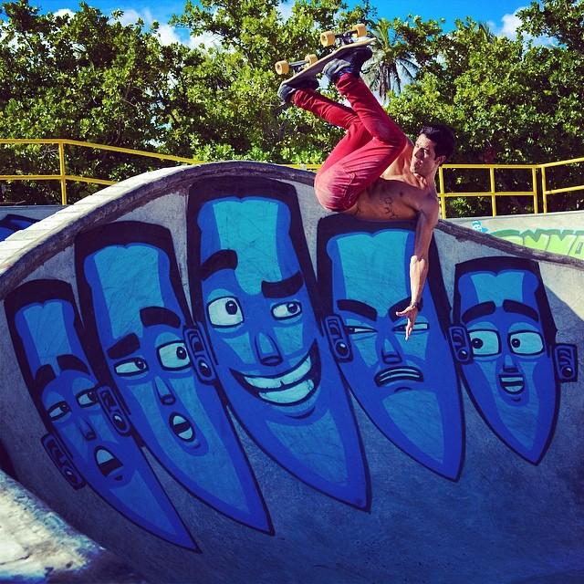 #Skatepark #AterrodoFlamengo Manobra: @yuriklima Photo: @waking_conscience