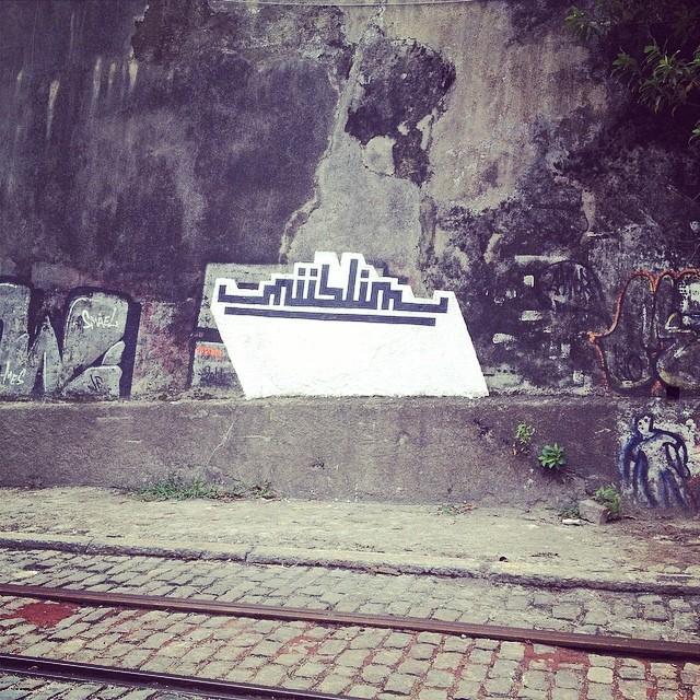 Street art is big here. #santateresa #streetartrio #religion #whatdoesitmean