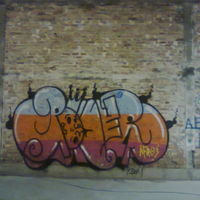 #Streetartrio #poderafro #artistasurbanoscrew #ruasdazn #graffitirj #graffitart
