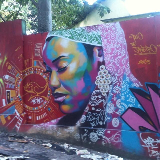 #nofilter #graffiti #rio #riodejaneiro #streetartrio #arteurbana #vidigal #brasil #brazil